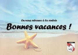 Vacances estivales 2021